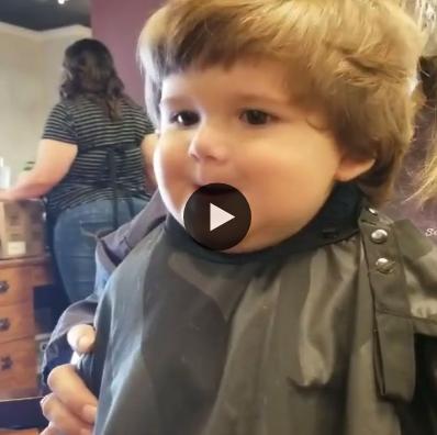 Quando seu filho corta o cabelo pela primeira vez