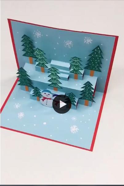 Como fazer um maravilhoso e incrível cartão de natal